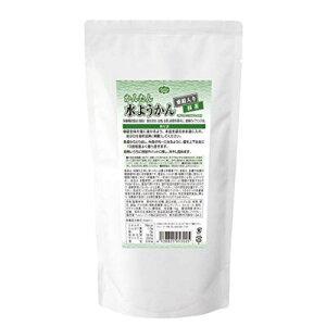 ヘルシーフード かんたん水ようかん 亜鉛入り 抹茶 1kg 【栄養】3980円(税込)以上で送料無料
