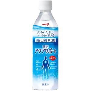 明治アクアサポート 500ml 経口補水液