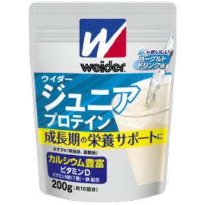 【在庫限り】ウイダージュニアプロテイン ヨーグルト味 200g