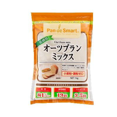 2袋ご購入で送料無料 鳥越製粉 低糖質オーツブランミックス 1kg / 送料無料(一部地域除く)