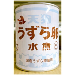 うずら卵 国産 JAS 業務用 2号缶 430g 天狗缶詰 3980円(税込)以上で送料無料