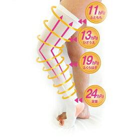 一般医療機器 MB メディカルソックス オーバーニー ロングタイプ 着圧ソックス 膝上 靴下 むくみ 医療用弾性ストッキング 血栓予防 メンズ レディース 男性 女性 手術後 弾圧 段階 着圧 加圧 日本製