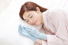 シルク混おやすみ手袋(1双組)