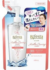 ビフェスタ(Bifesta) ミセラークレンジングウォーター センシティブ つめかえ用 360ml