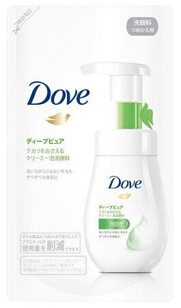 ダヴ ディ-プピュア クリ-ミ-泡洗顔料 つめかえ 140mL