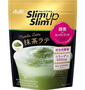 スリムアップスリム 酵素+スーパーフードシェイク 抹茶ラテ 315g