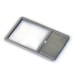 【即配】 極薄カード型拡大鏡LED付き KCL-025S ケンコートキナー KENKO TOKINA【ネコポス便送料無料】