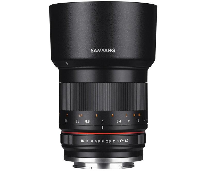 【1/28 1:59までポイント10倍】【即配】 (KT) SAMYANG サムヤン 交換レンズ 50mm F1.2 AS UMC CS Fuji X BK ブラック 【送料無料】【あす楽対応】