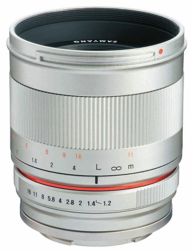 【1/28 1:59までポイント10倍】【即配】 (KT) SAMYANG サムヤン 交換レンズ 50mm F1.2 AS UMC CS Fuji X SV シルバー【送料無料】【あす楽対応】