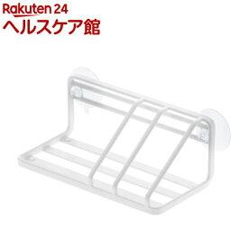 スポンジ&ボトルラック プレート ホワイト(1コ入)【山崎実業】