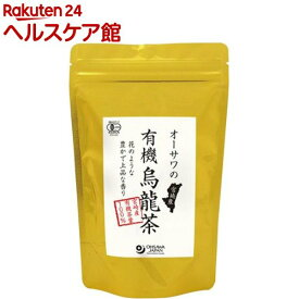 オーサワの有機烏龍茶(60g)【オーサワ】