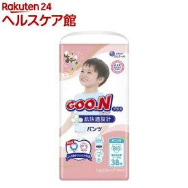 グーンプラス 肌快適設計 パンツ BIGサイズ(38枚入)【グーン(GOO.N)】
