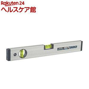 タジマ マグネット付 ボックスレベル スタンダード 380mm BX2-S38M(1本)【タジマ】