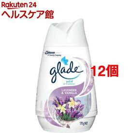 グレード ソリッドエアフレッシュナー ラベンダー&バニラ(170g*12個セット)【グレード(Glade)】