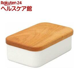 野田琺瑯 バターケース 200g用 BT-200(1コ入)【野田琺瑯】