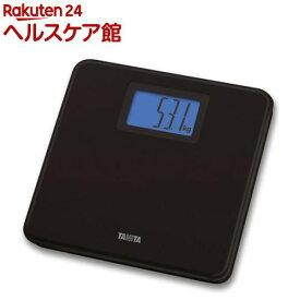 タニタ デジタルヘルスメーター ブラック HD-662-BK(1台)【タニタ(TANITA)】