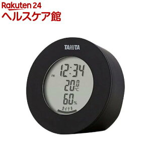 タニタ デジタル温湿度計 ブラック TT-585-BK(1個)【タニタ(TANITA)】