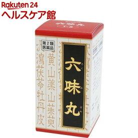 【第2類医薬品】六味丸料エキス錠クラシエ(180錠)【クラシエ漢方 赤の錠剤】