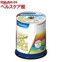 バーベイタム DVD-R 録画用 16倍速 VHR12JP100V4(100枚入)【バーベイタム】
