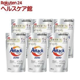 アタックZERO 洗濯洗剤 つめかえ用(360g*6袋セット)【アタックZERO】