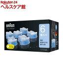 ブラウン クリーン&リニューシステム専用 洗浄液 カートリッジ CCR6(6コ入)【ブラウン(Braun)】