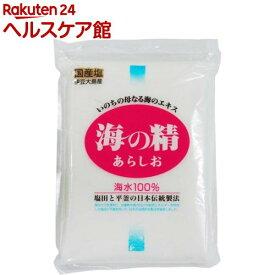 海の精 あらしお(500g)【spts4】