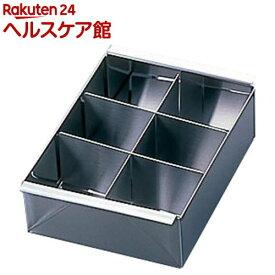 デザート寒天流し器 6ヶ取 C-001(1コ入)