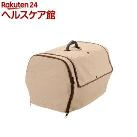 リッチェル ペットキャリーカバー M BR(1コ入)【リッチェル(ペット)】