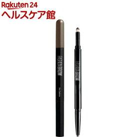 メイベリン ファッションブロウ スリム&ソフト BR-1 自然な濃茶色 アイブロウ(1本入)【メイベリン】