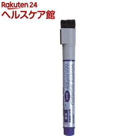 ホワイトボード用 ボードマーカー (直液式) 中字 ブルー LBM26A(1本入)