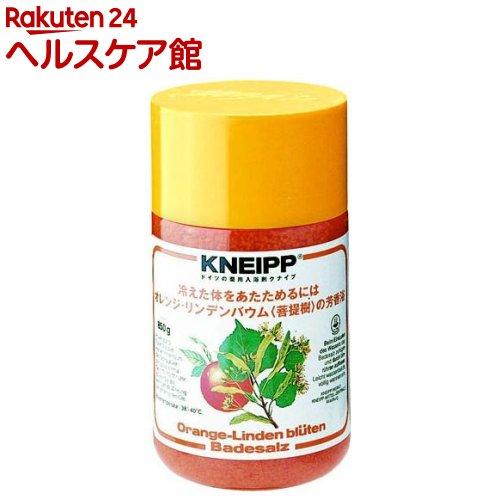 クナイプ バスソルト オレンジ・リンデンバウム(850g)【クナイプ(KNEIPP)】【送料無料】