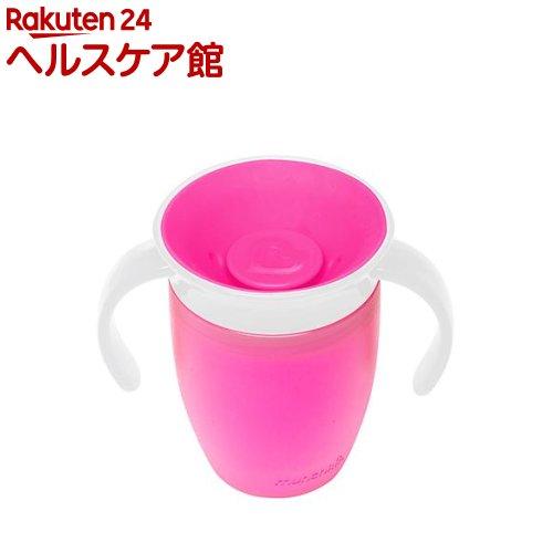 マンチキン ハンドル付ミラクルカップ ピンク(1コ入)【マンチキン(munchkin)】