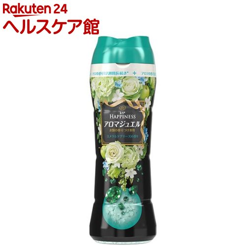 レノアハピネス アロマジュエル エメラルドブリーズの香り 本体 香り付け専用剤(520mL)【レノアハピネス アロマジュエル】