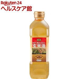オリザ 胚芽の恵みを受けた玄米油(こめ油/米油)(600g)【more20】