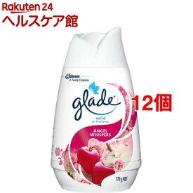 グレード ソリッドエアフレッシュナー エンジェルウィスパー(170g*12個セット)【グレード(Glade)】