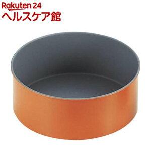 トッピングオレンジ デコレーションケーキ型 中 B-102(1コ入)【トッピングオレンジ】