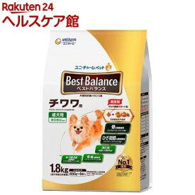 ベストバランス チワワ用(1.8kg)【dalc_unicharmpet】【ベストバランス】[ドッグフード]