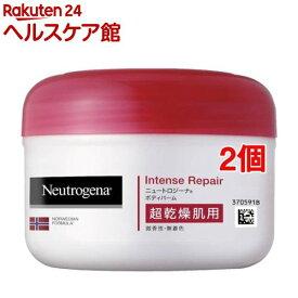 ニュートロジーナ インテンスリペア ボディバーム 超乾燥肌用 微香性(200ml*2個セット)【Neutrogena(ニュートロジーナ)】