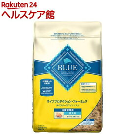 BLUE ライフプロテクション・フォーミュラ 成犬用 体重管理用 チキン&玄米レシピ(6kg)