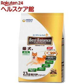 ベストバランス 柴犬用(2.7kg)【dalc_unicharmpet】【ベストバランス】[ドッグフード]