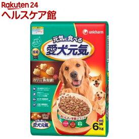 愛犬元気 全成長段階用 ささみ・ビーフ・緑黄色野菜入り(6kg)【愛犬元気】[ドッグフード]