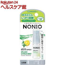 ノニオ マウススプレー スプラッシュシトラスミント(5ml)【more30】【ノニオ(NONIO)】