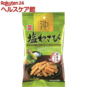 岩塚製菓 大人のおつまみ 塩わさび(53g入)【岩塚製菓】