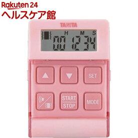 タニタ バイブレーションタイマー24時間計 クイック ピンク TD-370N-PK(1台)【タニタ(TANITA)】