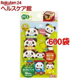 抗菌バランセット るんるんパンダ(18枚入*600袋セット)
