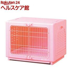 ペッツルート ワンルーム ステンレス ピンク Sサイズ(1コ入)