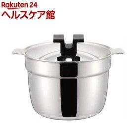 ライスポット 炊飯鍋 S-タイプ 全面ステンレス・アルミ芯3層鋼 2合 RP-2S(1コ入)【Miyaco(ミヤコ)】
