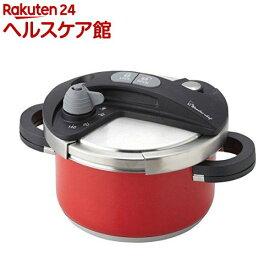 ワンダーシェフ オースプラス 両手圧力鍋 3.5L レッド(1コ入)【ワンダーシェフ】
