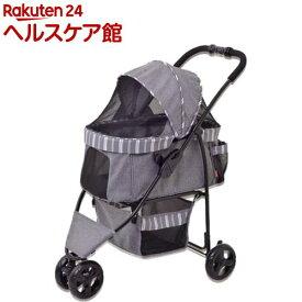 わんわんカート スマートハンディ ストライプグレー(1台)【わんわんカート】