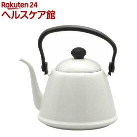 野田琺瑯 ドリップケトルII ホワイト DK-200W(1コ入)【野田琺瑯】